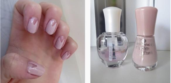 nail art beige
