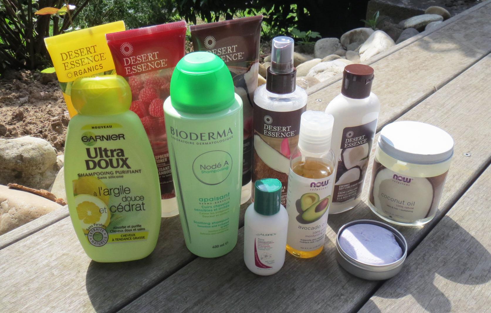 tout dabord comme vous pouvez le voir sur la photo il y a quelques nouveaux produits qui se sont rajouts notamment laprs shampooing nourrissant la - Shampoing Cheveux Colors Sans Silicone